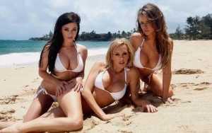 Hottest bikini babes in London