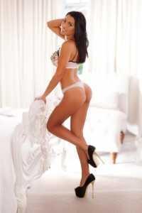 Micaela Brunette Big Boobs