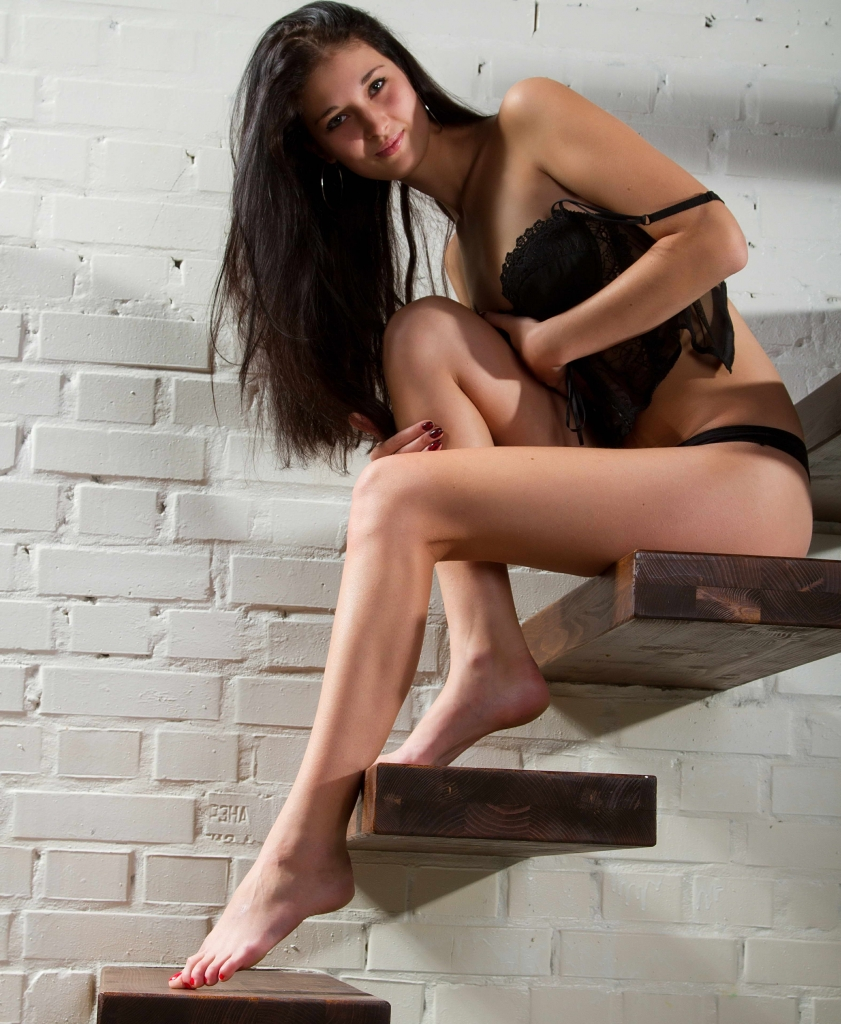 Beautiful Leggy Young Girl